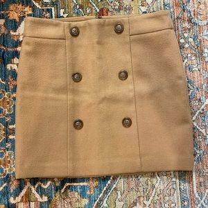GAP, wool, mini skirt